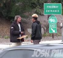 How a Homeless Man Spends $100